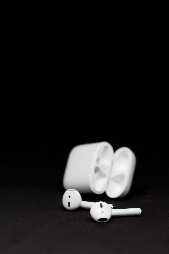 Airpods samt Ladecase